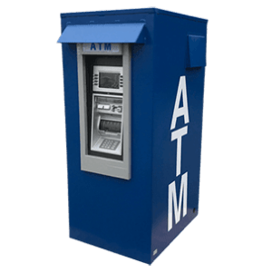 Outdoor ATM Security Enclosure made by TPI Texas