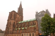 Cloudy day, Notre Dame of Strasbourg Germany