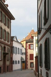 Basel, CH streets