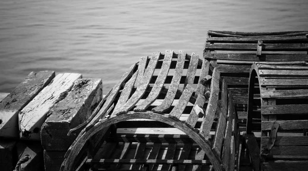 Wooden Floats and Lobster Traps