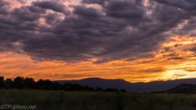 Hill Top Sunset - Click To Enlarge