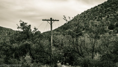 Last Old West Telegraph Lines Still Standing - Click To Enlarge