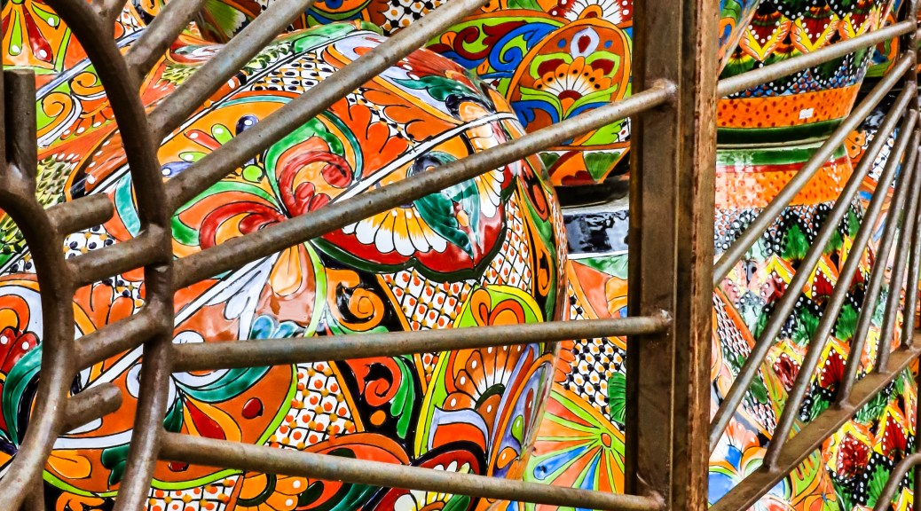 Colors And Pottery - Click To Enlarge