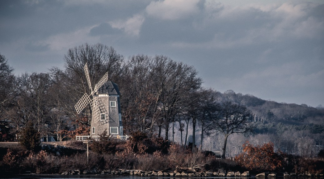 Connecticut River Wind Mill - Click To Enlarge