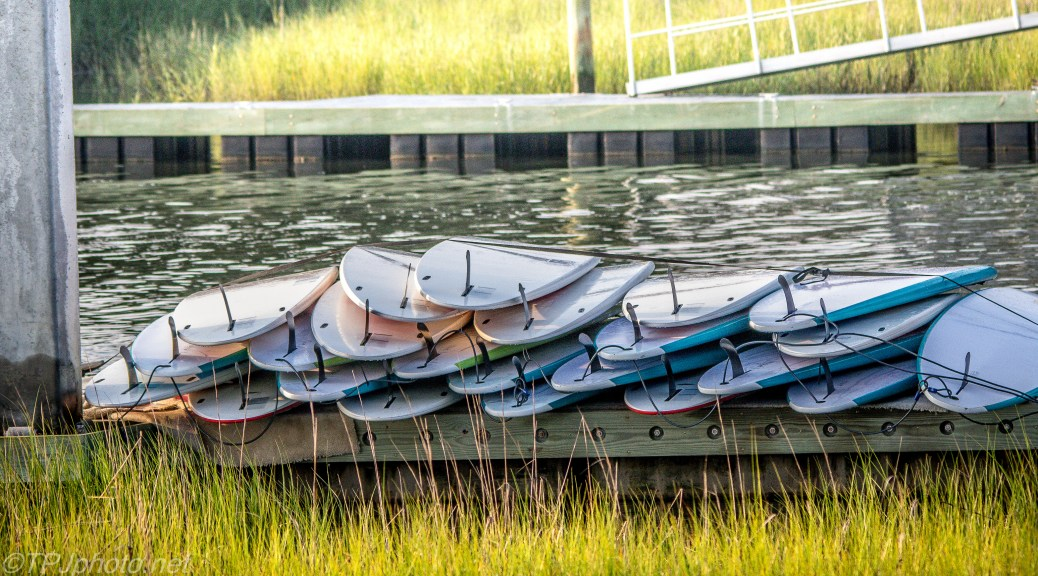 Pile Of Paddle Boards - Click To Enlarge