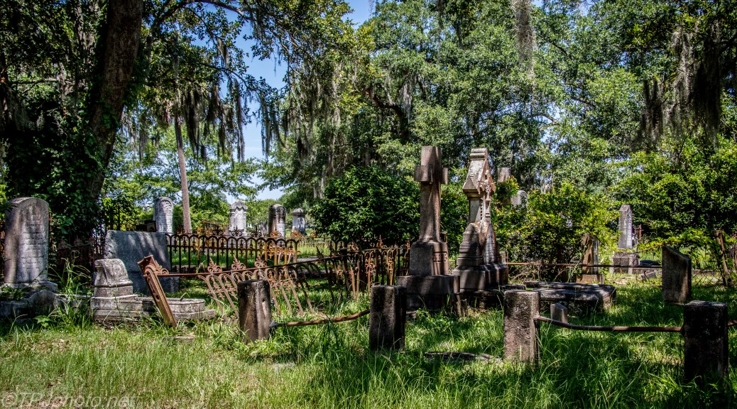 Old And Overgrown Cemetery - Click To Enlarge