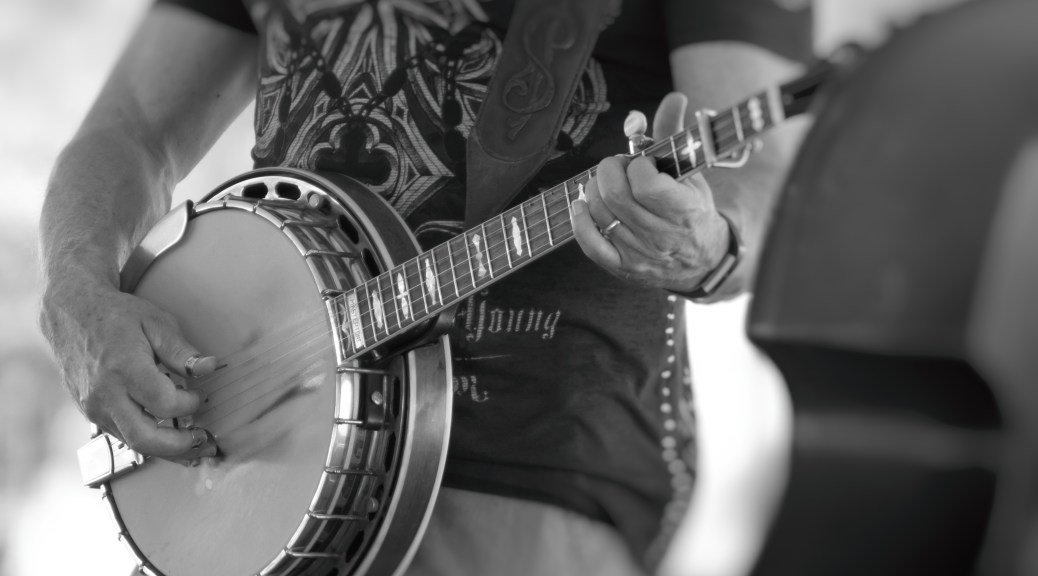 Banjo Pickin - Click To Enlarge