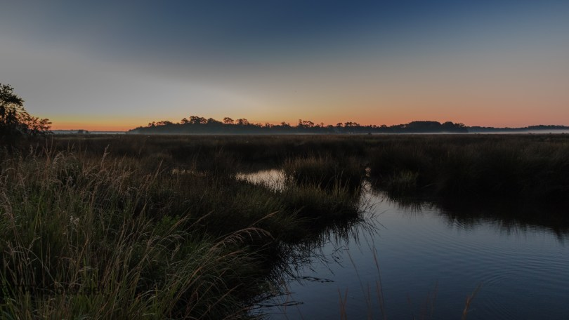 Dawn At A Wildlife Management Area - click to enlarge
