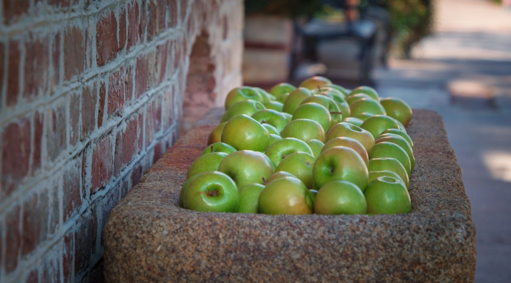 Apples - click to enlarge