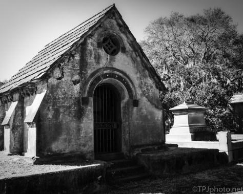 Mausoleum, A Glimpse Inside - click to enlarge