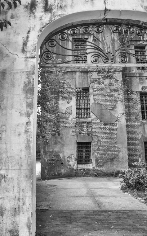 Outside The Old Charleston Jail - click to enlarge
