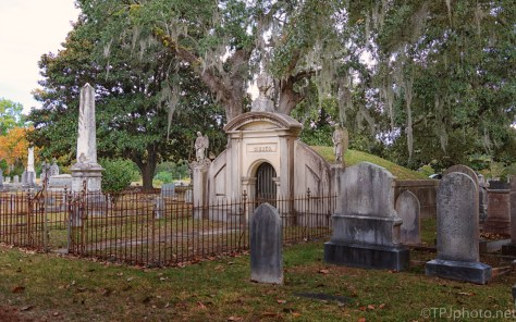 Gibbes Mausoleum, Magnolia Cemetery - click to enlarge