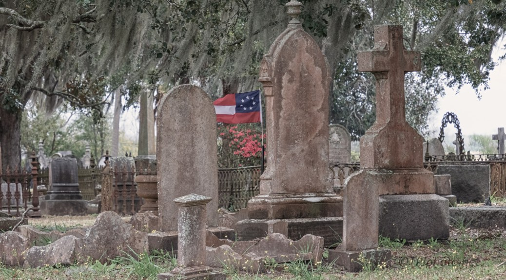 Old Charleston Grave Site - click to enlarge