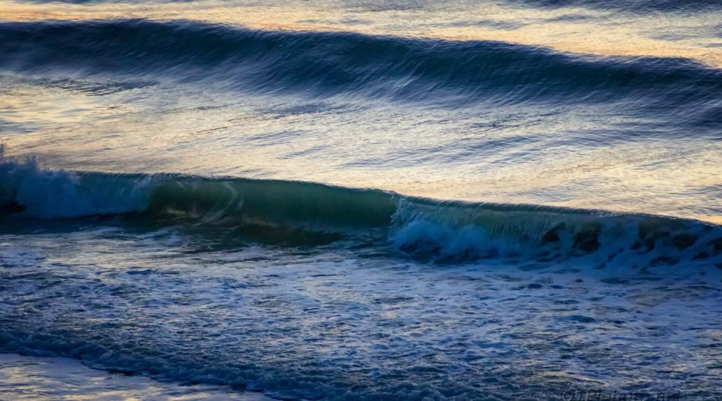 Morning Light In The Surf