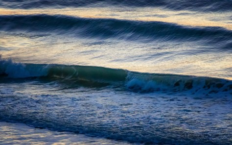 Morning Light In The Surf