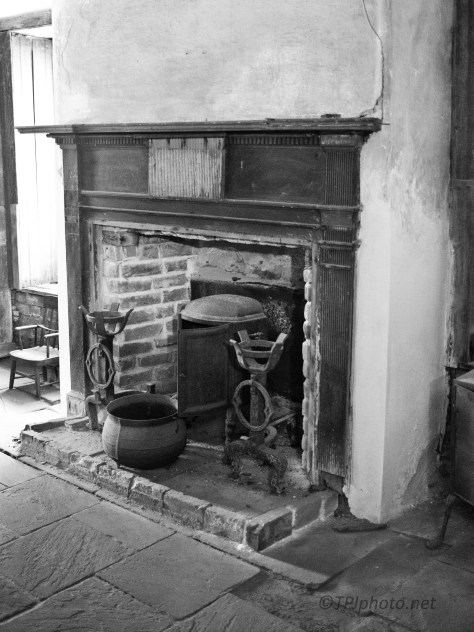 Kitchen Fire Place, A Grand House