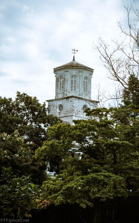 Church Spire In Charleston