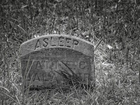 In A Cemetery