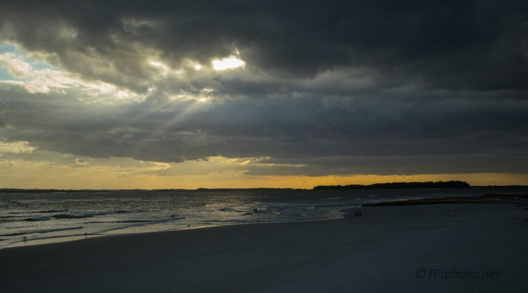 Charleston Shore Sundown
