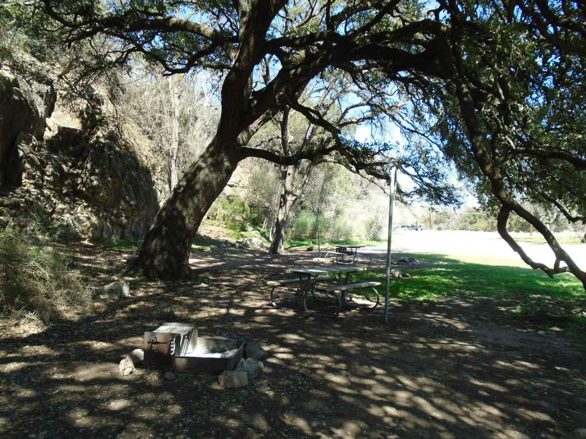Colorado Bend State Park Primitive Campsites Drive Up