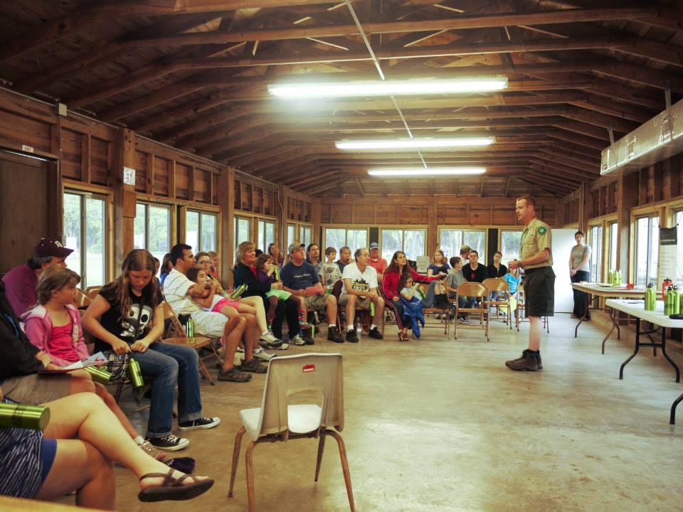Garner State Park Group Dining Hall Texas Parks