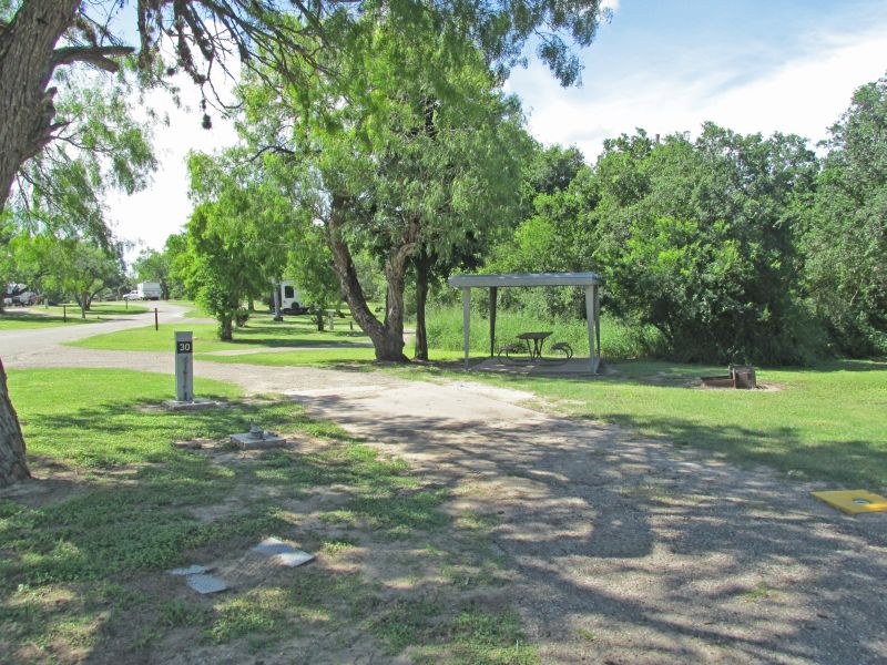 Lake Corpus Christi State Park Campsites With Water