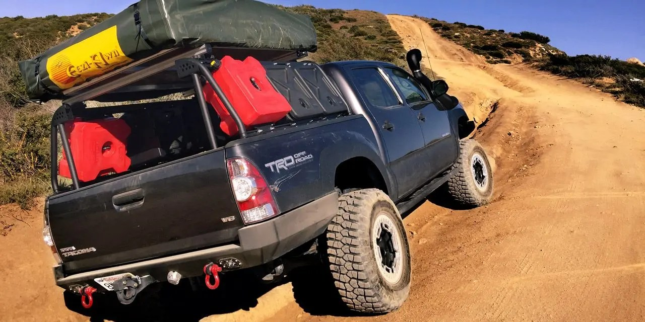 leitner active cargo solution for 2005 toyota tacoma