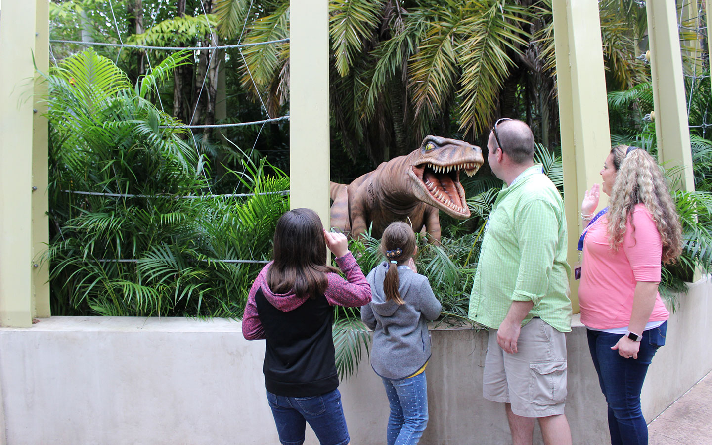 Come face-to-face with a raptor at The Raptor Encounter in Universal's Islands of Adventure