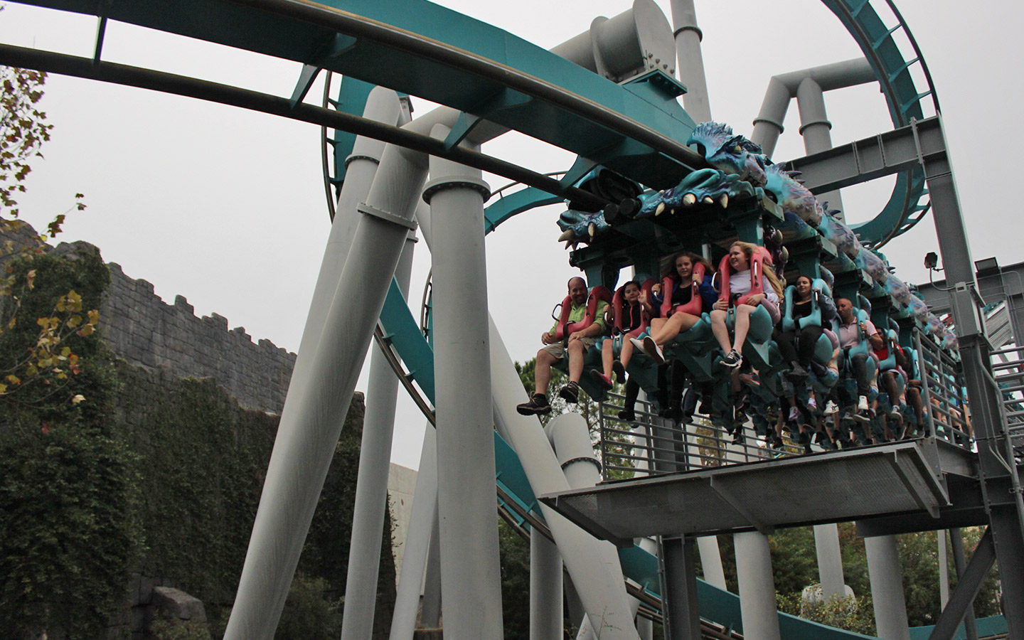 Become a part of the Triwizard Tournament on Dragon Challenge in The Wizarding World of Harry Potter at Universal Orlando Resort