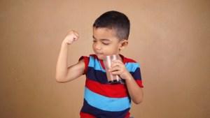 成長期の子供にはジュニアプロテインがオススメ!