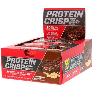 BSN, プロテインクリスプ、チョコレートクランチフレーバー