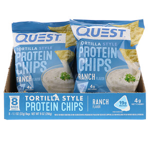 Quest Nutrition, Original Style Protein Chips Ranch Flavor