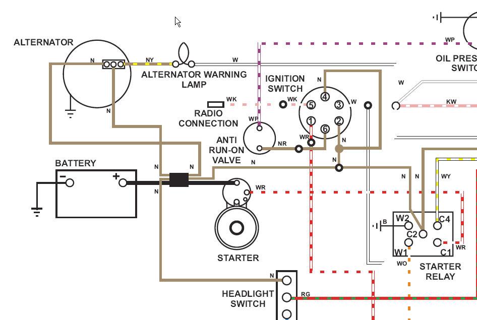 AlternatorWire?resize=665%2C446 1974 triumph tr6 wiring diagram wiring diagram medallion mdc 1600 wiring diagram at soozxer.org