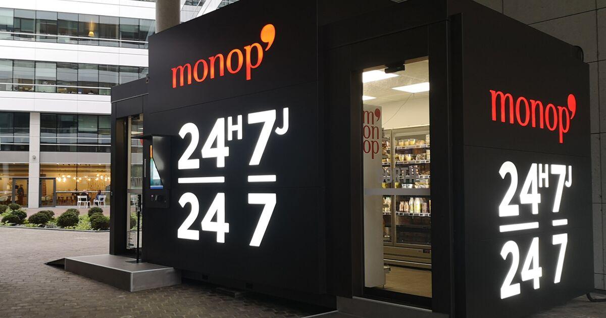 Monoprix Lance Son Magasin 100 Autonome Pour Faire Ses Courses En 1 Minute Chrono