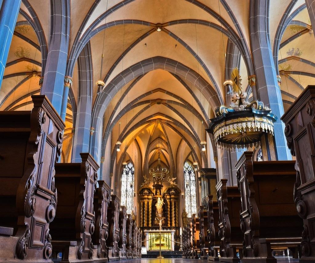 St. Lambertus Church inside view