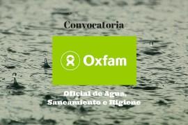 Oxfan, Agua y saneamiento