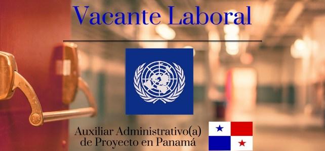 Naciones Unidas PNUD lanza convocatoria para Auxiliar Administrativo