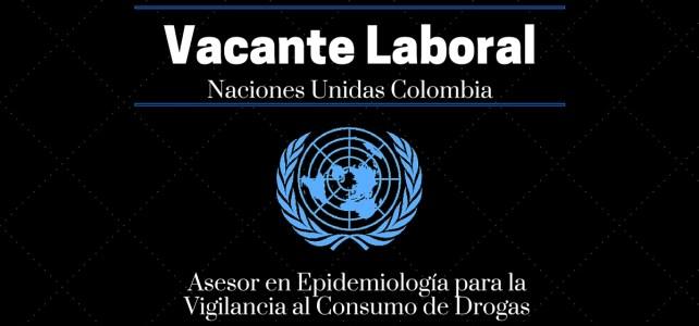 Trabaja con la Oficina de las Naciones Unidas contra la Droga y el Delito (UNODC) en Colombia – Hasta el 29 de marzo 2016