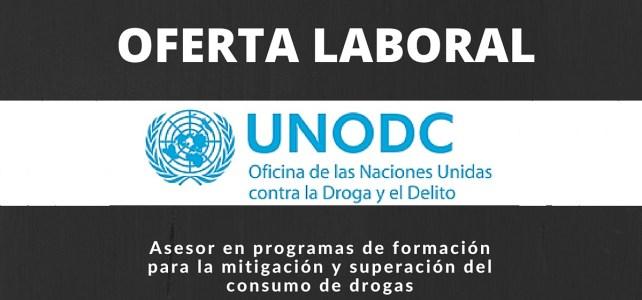 Vacante en la Oficina de las Naciones Unidas contra la Droga y el Delito (UNODC)