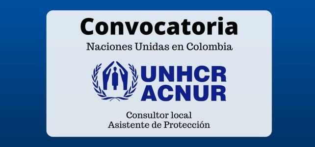 Vacante laboral con ACNUR en Colombia