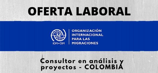 Trabaja con la Organización Internacional para las Migraciones