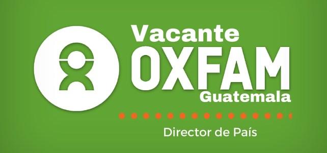 Trabaja con la OXFAM en Guatemala