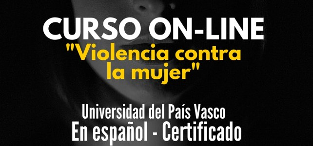Curso virtual gratuito Violencia contra la mujer