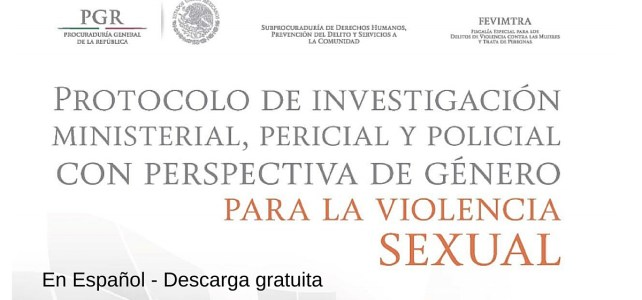 Protocolo de investigación con perspectiva de género