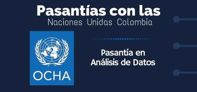 Pasantía en OCHA – Naciones Unidas Colombia