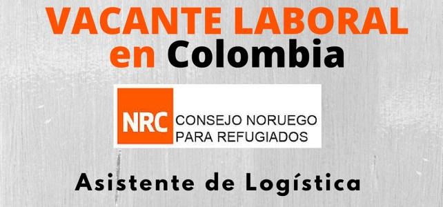 El Consejo Noruego para Refugiados abre vacante laboral en Colombia