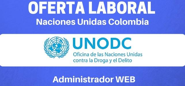 Vacante laboral en las Naciones Unidas – Administrador web