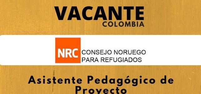 Convocatoria laboral con el Consejo Noruego para Refugiados en Colombia