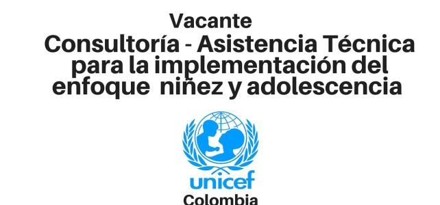 Asistencia Técnica para la implementación del enfoque de niñez y adolescencia con UNICEF