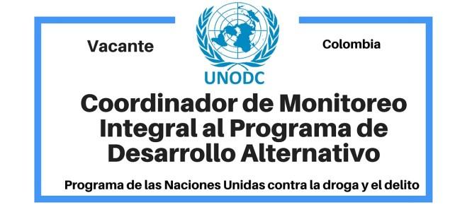 Coordinador de Monitoreo Integral al Programa de Desarrollo Alternativo